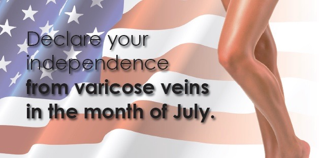 Is It Time For Independence Day From Your Varicose Veins?
