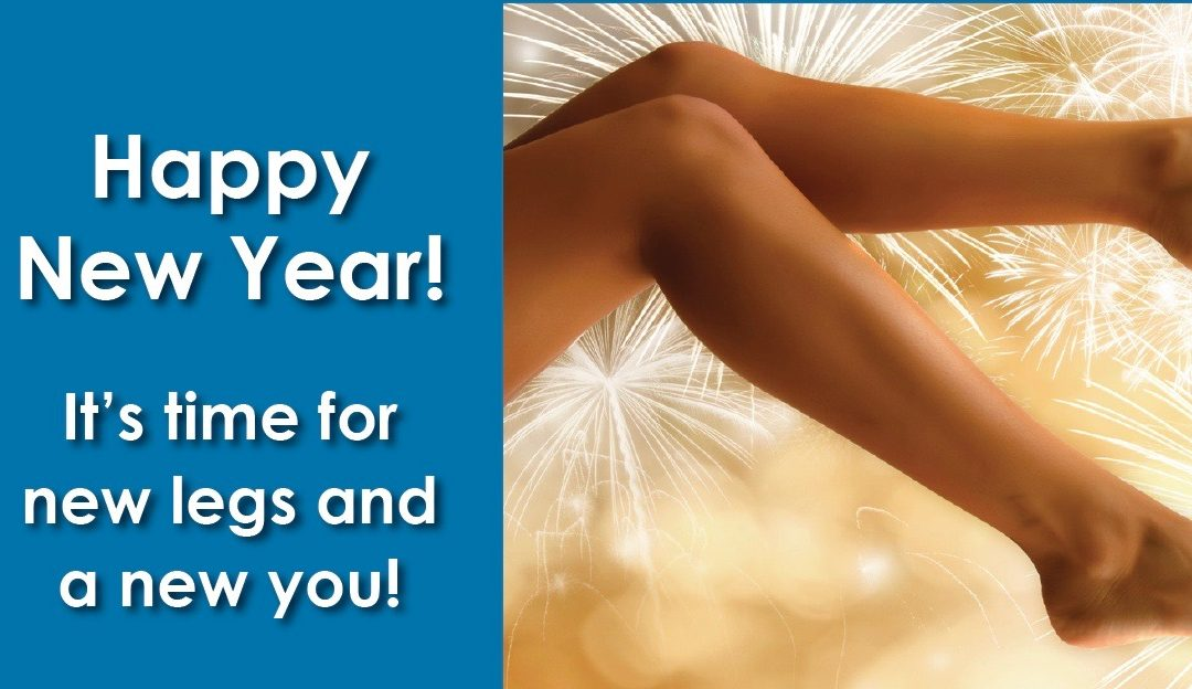 Are Healthy-Looking Legs One of Your New Year's Resolutions?